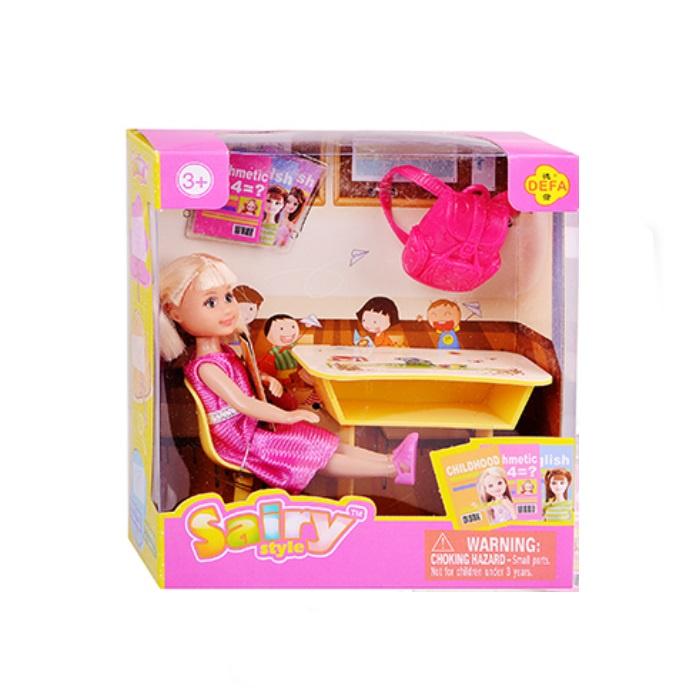 Игровой набор с куклой Defa 8298