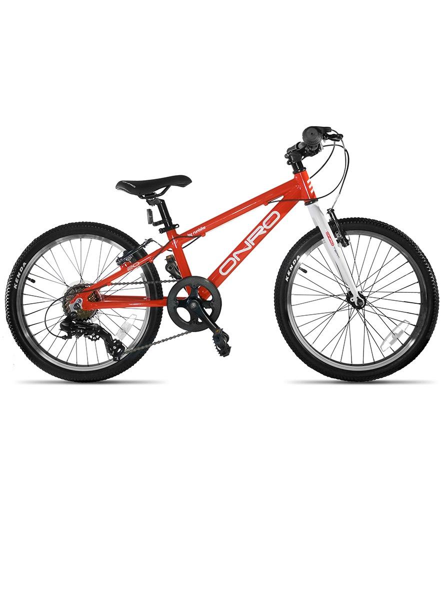 Велосипед ONRO ON202BR, красный onro велосипед детский onro by runbike диаметр колес 16