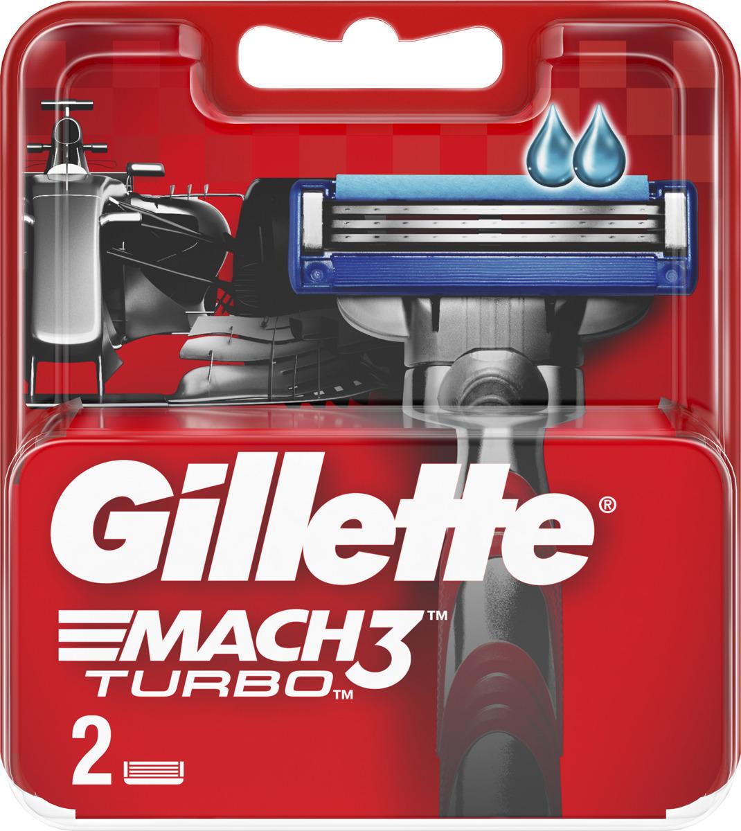 Сменные кассеты для бритв Gillette MCT81618700