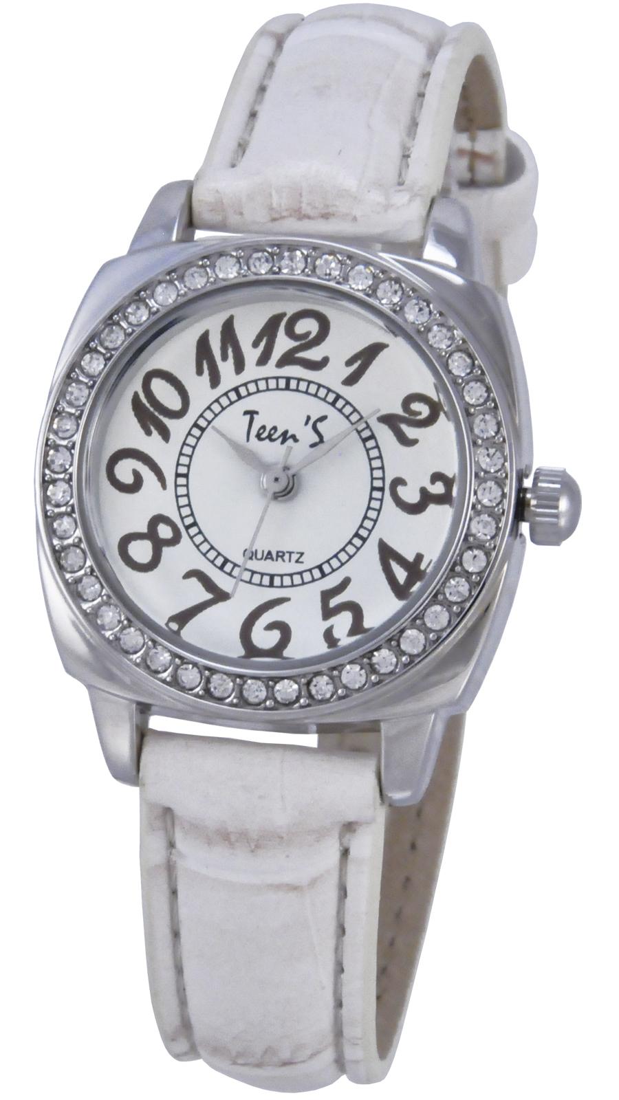 Часы Тик-Так Н119, бежевый11347Наручные часы Тик-Так Teen'S Collection предназначены для подростков 9-15 лет, но могут подойти и взрослым людям, поскольку имеют стильный и привлекательный дизайн. У часов металлический корпус, стальная задняя крышка, минеральное стекло и мягкий ремешок, изготовленный из искусственной кожи. В часы установлен надежный японский механизм TMI PC21, который комплектуется сменной батарейкой типа SR626SW. Часы имеют брызгозащищенную конструкцию.