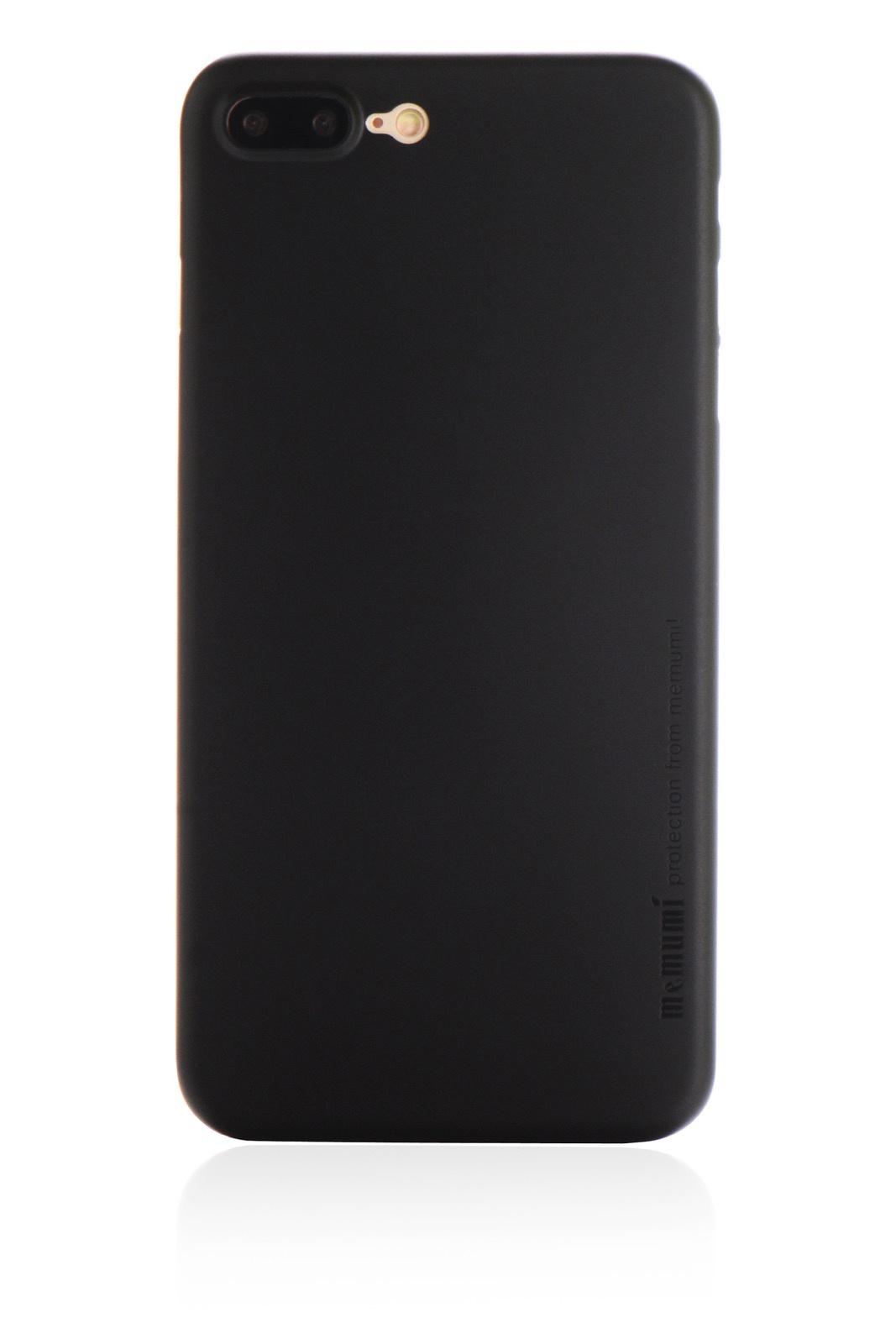 """Чехол для сотового телефона Memumi Ultra Slim Premium 901640 пластик 0.3 mm для Apple iPhone 7 Plus/8 Plus 5.5"""", черный"""