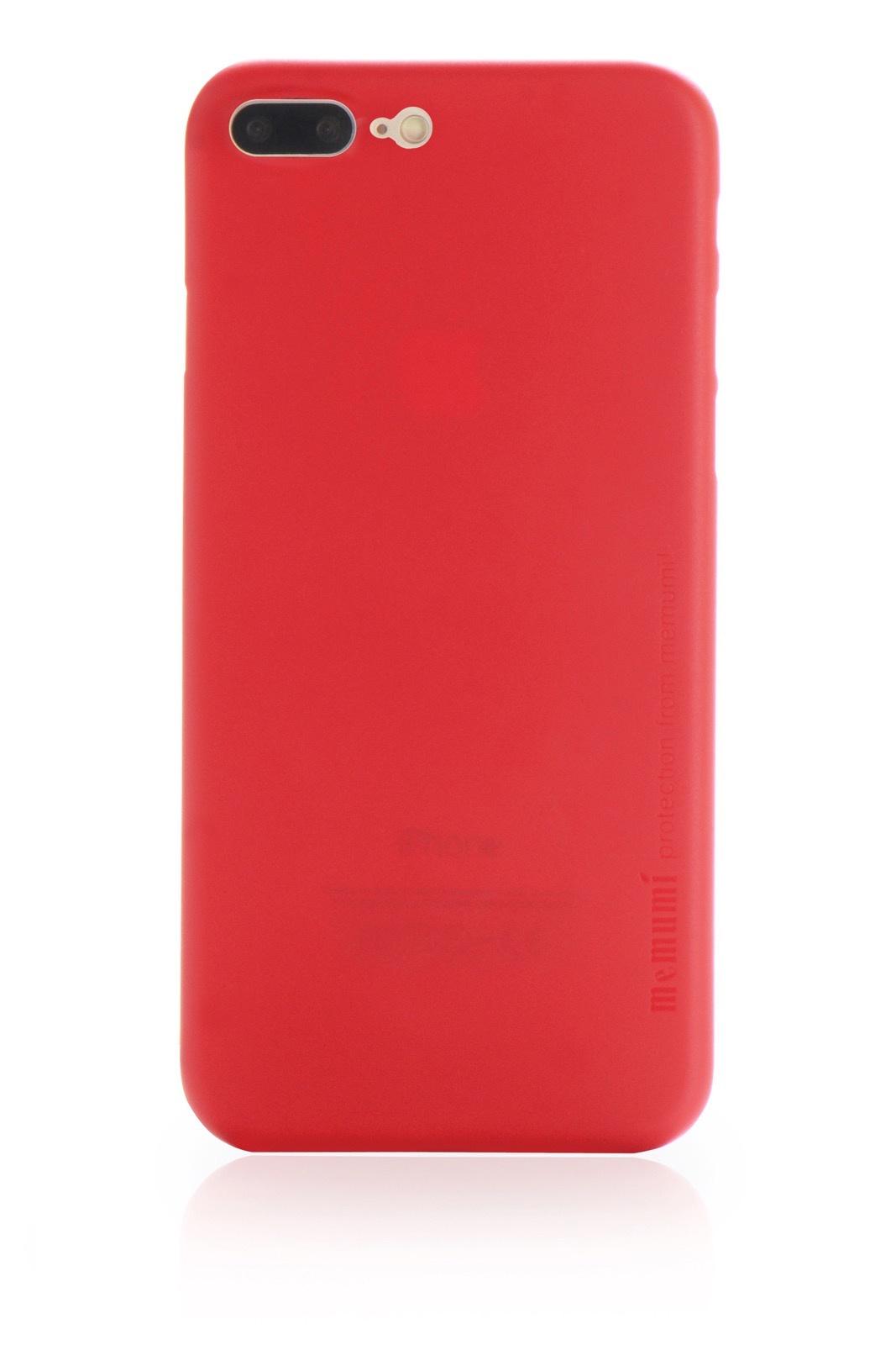 "Чехол для сотового телефона Memumi Ultra Slim Premium 905354 пластик 0.3 mm для Apple iPhone 7 Plus/8 Plus 5.5"", красный"