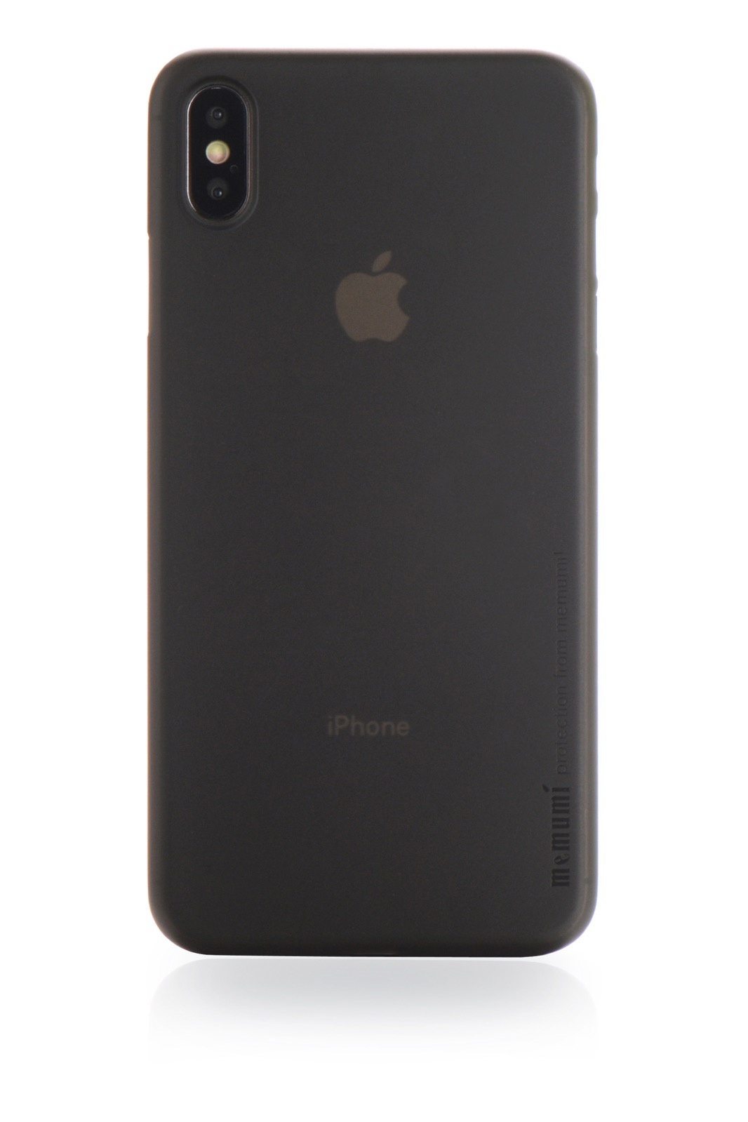 "Чехол для сотового телефона Memumi Ultra Slim Premium 906732 пластик 0.3 mm для Apple iPhone XS Max 6.5"", серый"