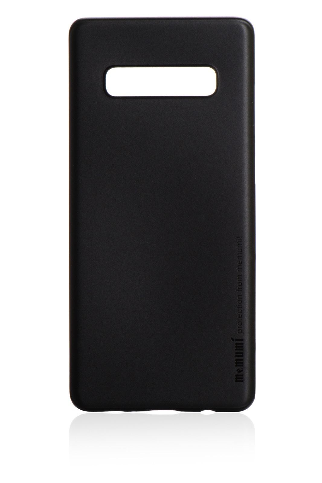 Чехол для сотового телефона Memumi Ultra Slim Premium пластик 0.3 mm для Samsung Galaxy S10 Plus, черный