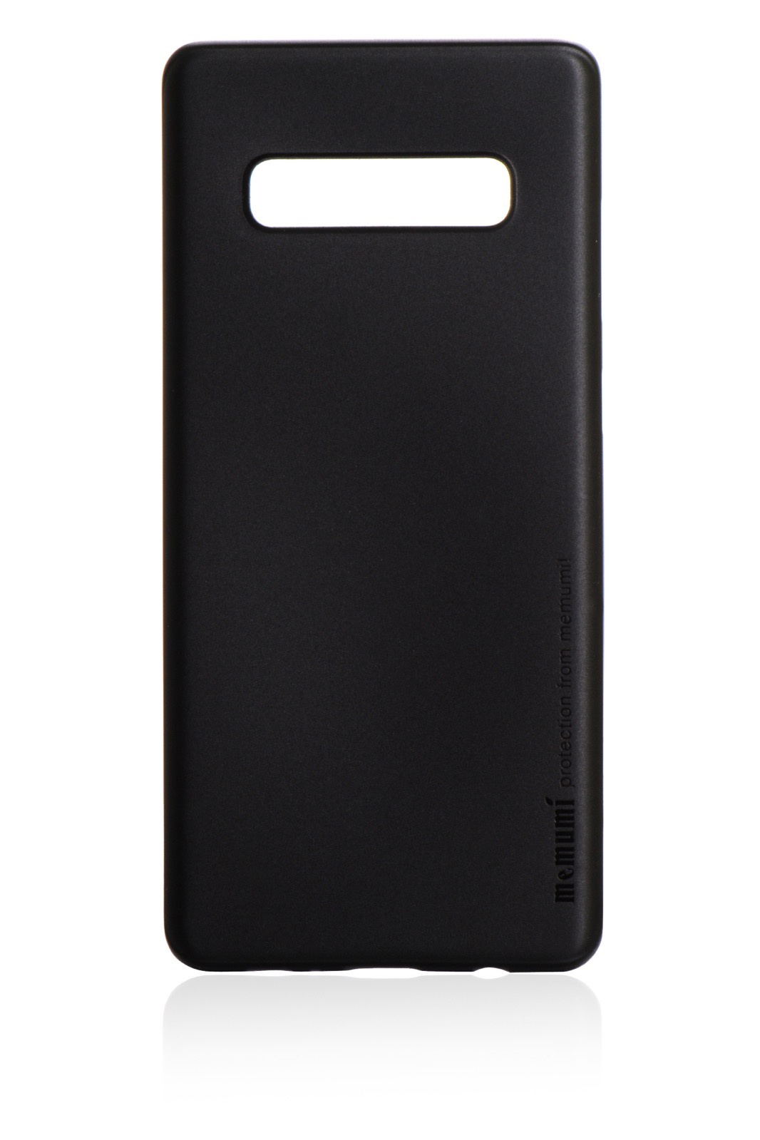 Чехол для сотового телефона Memumi Ultra Slim Premium пластик 0.3 mm для Samsung Galaxy S10, черный