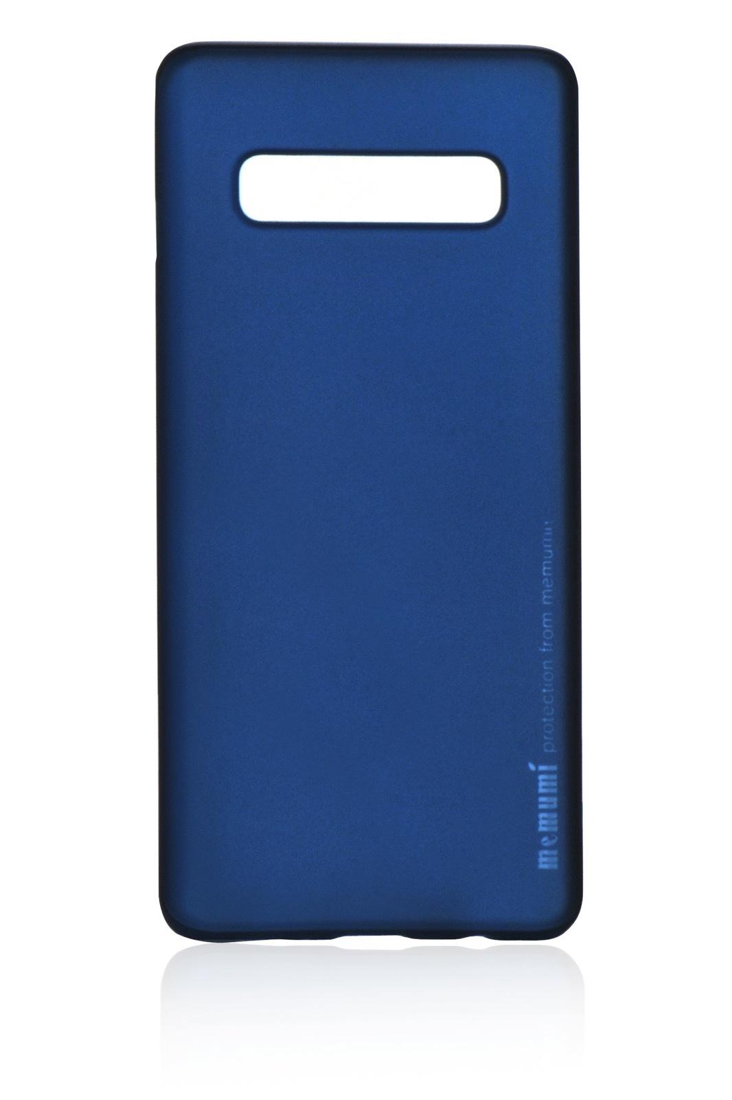 Чехол для сотового телефона Memumi Ultra Slim Premium 908199 пластик 0.3 mm для Samsung Galaxy S10 Plus, синий