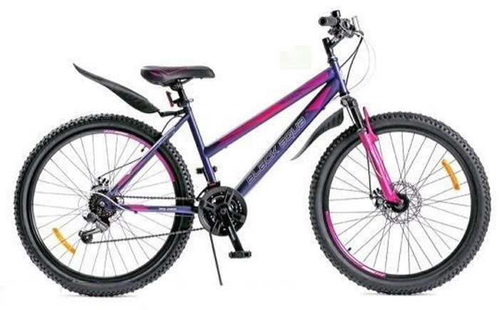 Велосипед Black Aqua Lady 1651 D Matt, фиолетовый, колесо 26, рама 17,5