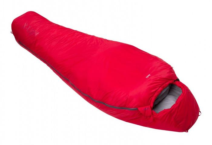 Спальный мешок Red Fox X-Light, левосторонняя молния, 00000027893, красный, 210 х 85 см