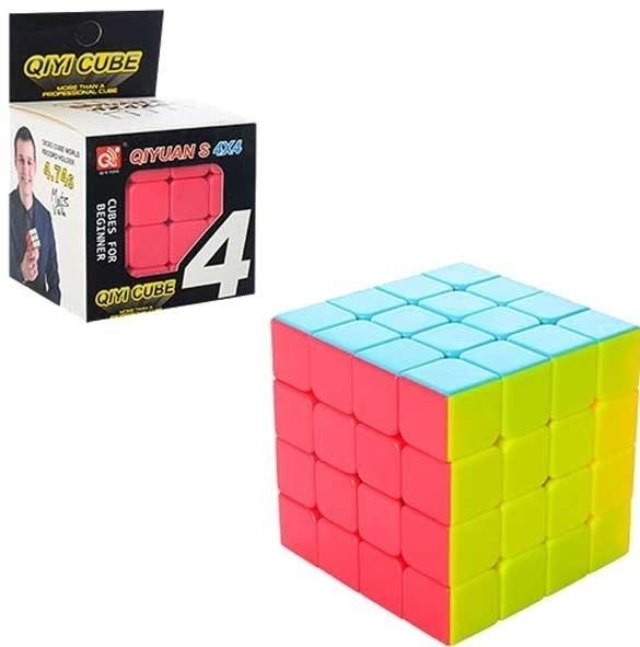 Головоломка EdiToys Кубик Рубика 4х4 (яркий) dian sheng кубик рубика для соревнования развивающие игрушки ds 200