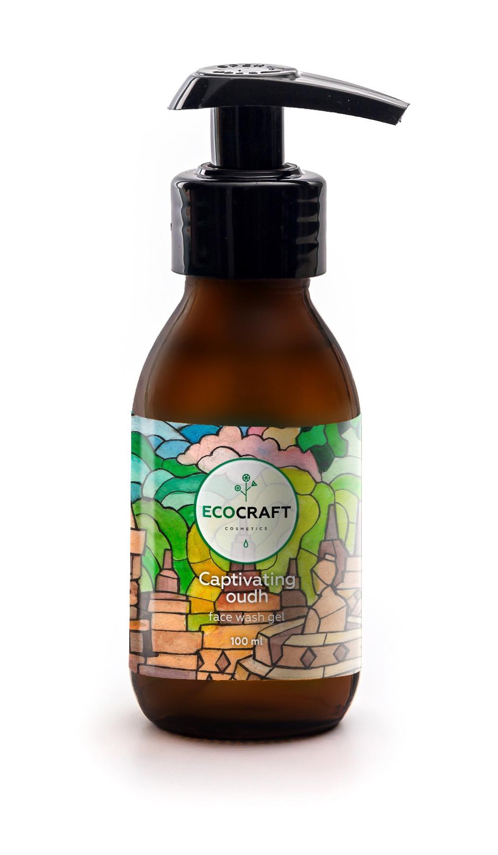 Гель для умывания с лифтинг-эффектом для зрелой кожи Пленительный уд, 100 мл, ECOCRAFT ECOCRAFT Cosmetics