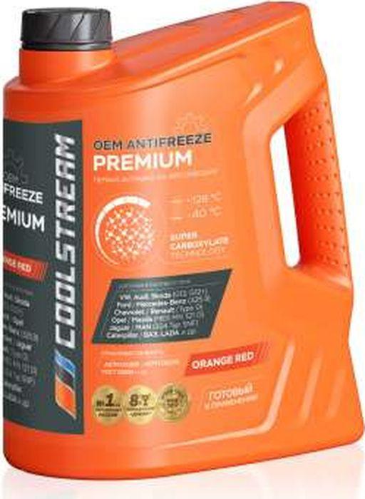 Антифриз CoolStream Premium 40, CS-010102, оранжевый, 5 л