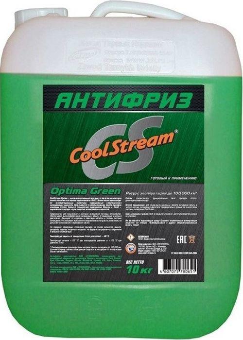 Антифриз CoolStream Optima, CS-010703-GR, зеленый, 10 л