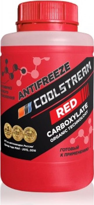 цены на Антифриз CoolStream Red, CS-010901-RD, красный, 0,9 л  в интернет-магазинах