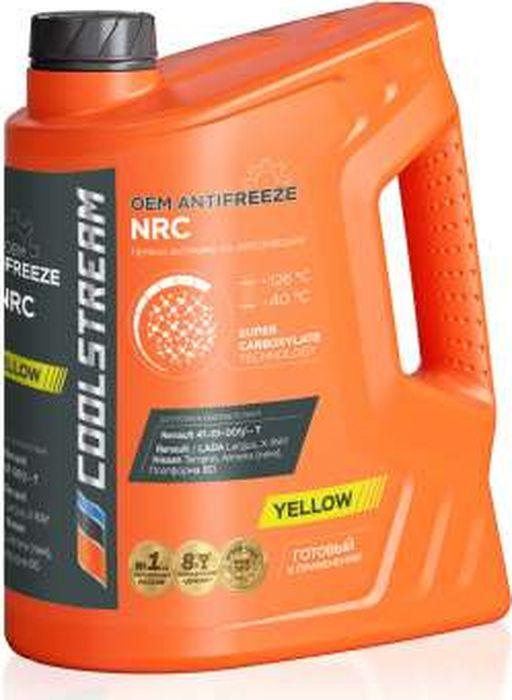 Антифриз CoolStream NRC, CS-010402, желтый, 5 л