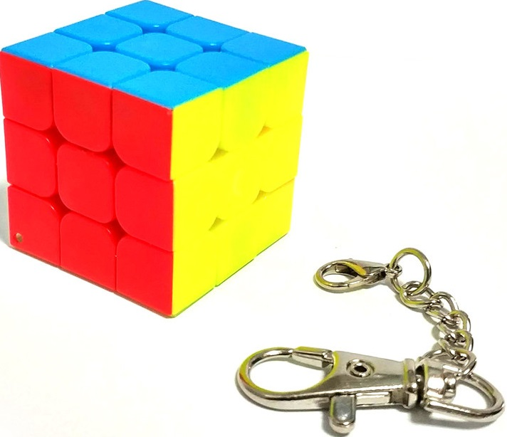 Головоломка EdiToys Кубик Рубика 3х3 (яркий-2)