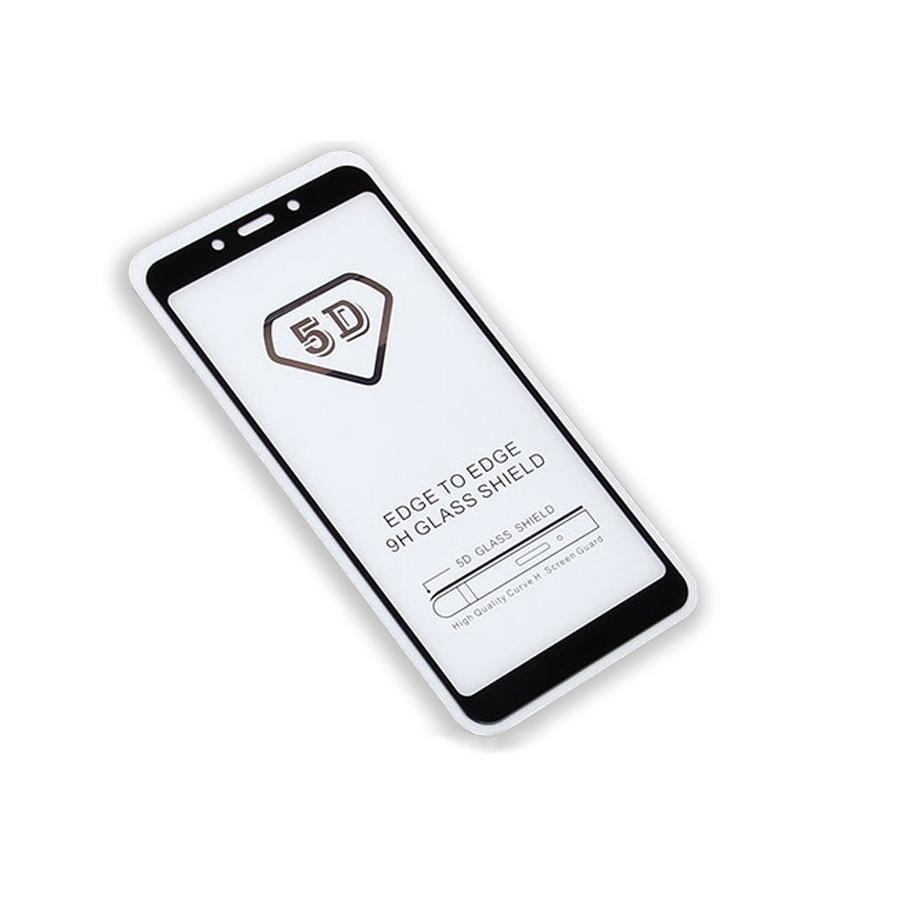 Защитное стекло Full Glue Xiaomi Redmi 6/6A на полный экран, черный защитное стекло full glue xiaomi redmi 5a черный