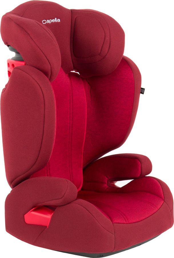 Автокресло Capella, S2311 S18-231, 15-36 кг, красный автокресло 3 категории