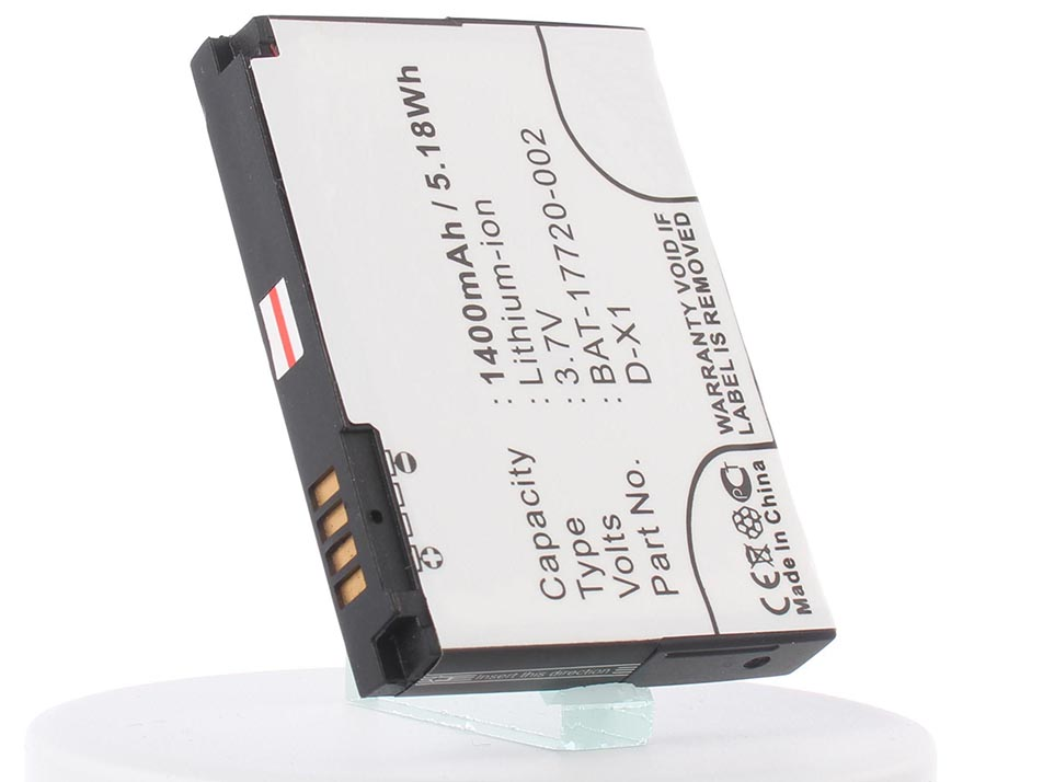 Аккумуляторная батарея iBatt iB-BAT-17720-002-M228 1400mAh. цена