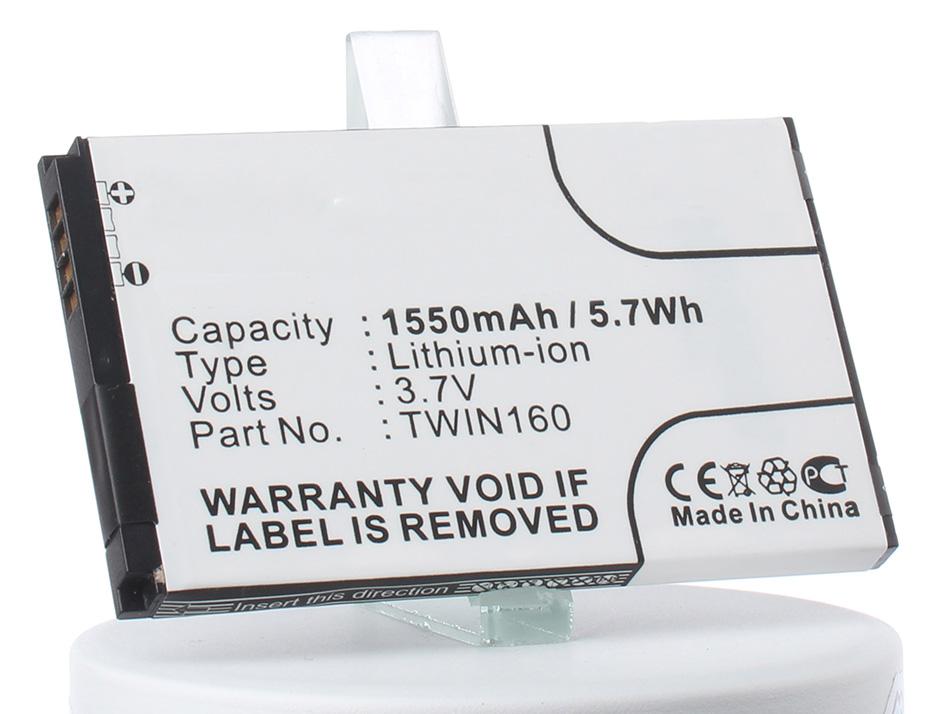 Аккумулятор для телефона iBatt iB-TWIN160-M243 htc hero a6262