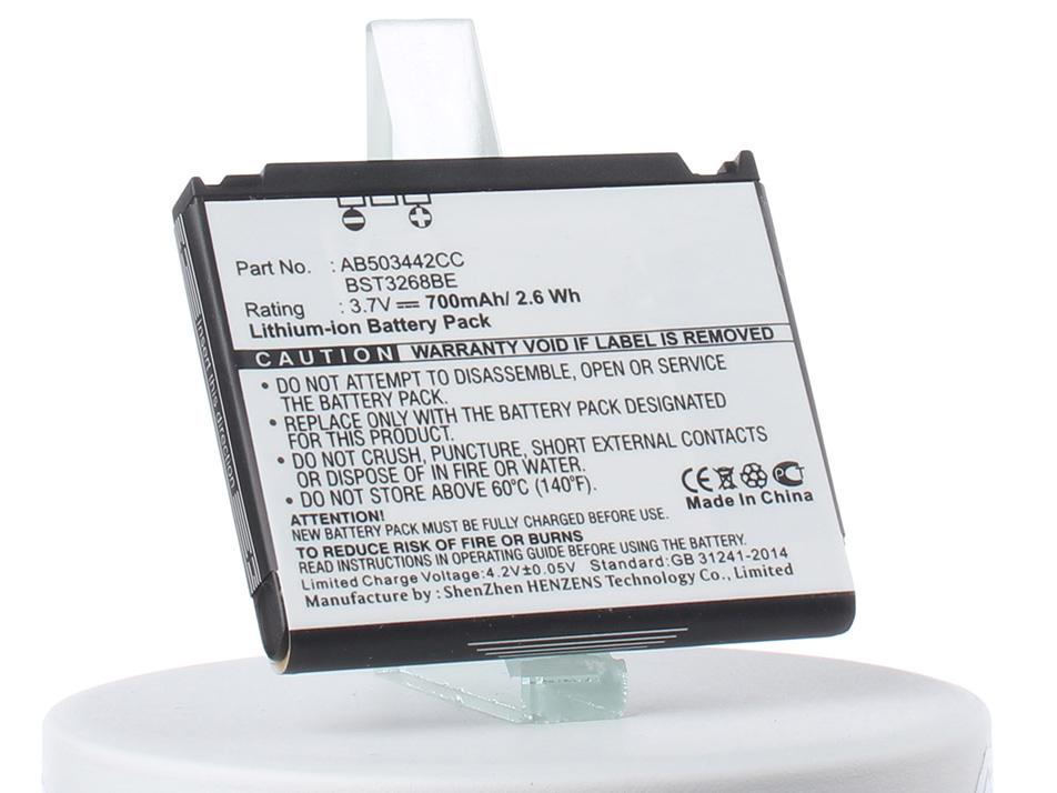 Аккумулятор для телефона iBatt iB-AB503442CE-M257 аккумулятор для телефона craftmann ab503442ce для samsung sgh d900 a767 f480 f488