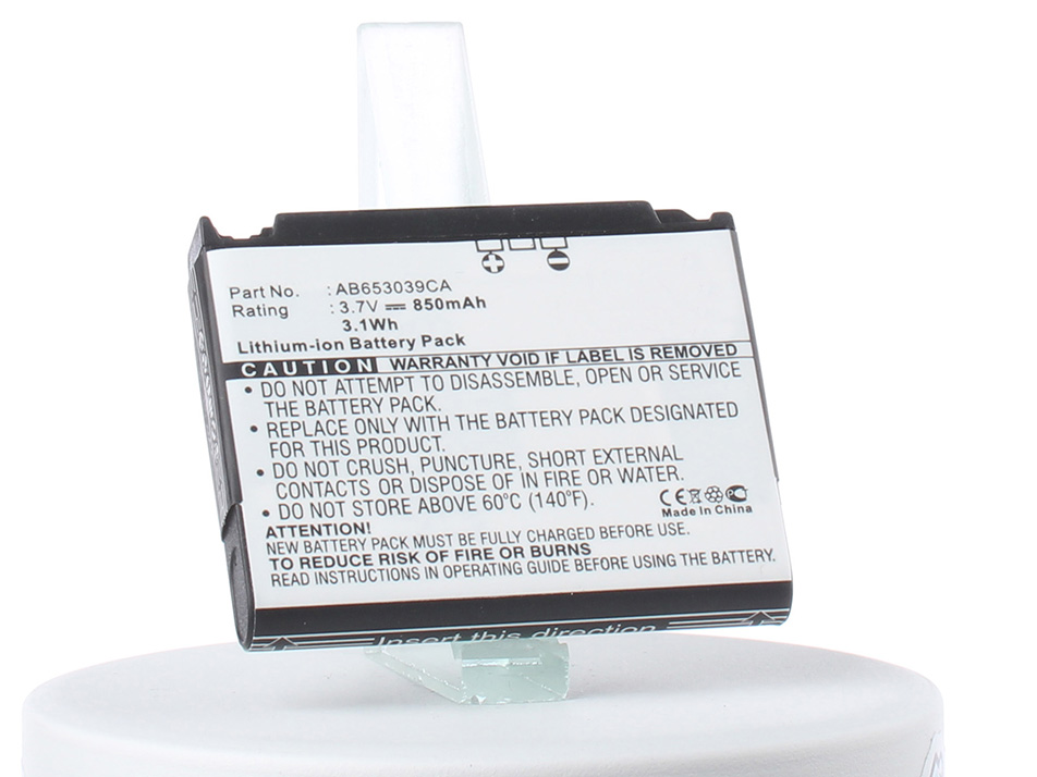 Аккумулятор для телефона iBatt iB-AB653039CE-M274 аккумулятор для телефона craftmann ab483640ac для samsung sgh e830 sgh e838 sgh s730