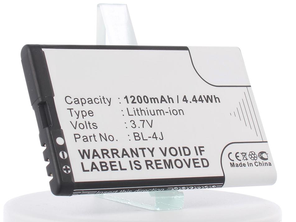 Аккумулятор для телефона iBatt iB-BL-4J-M284 аккумулятор для телефона craftmann bl 4j для nokia c6 c6 00 nokia 600 lumia 620