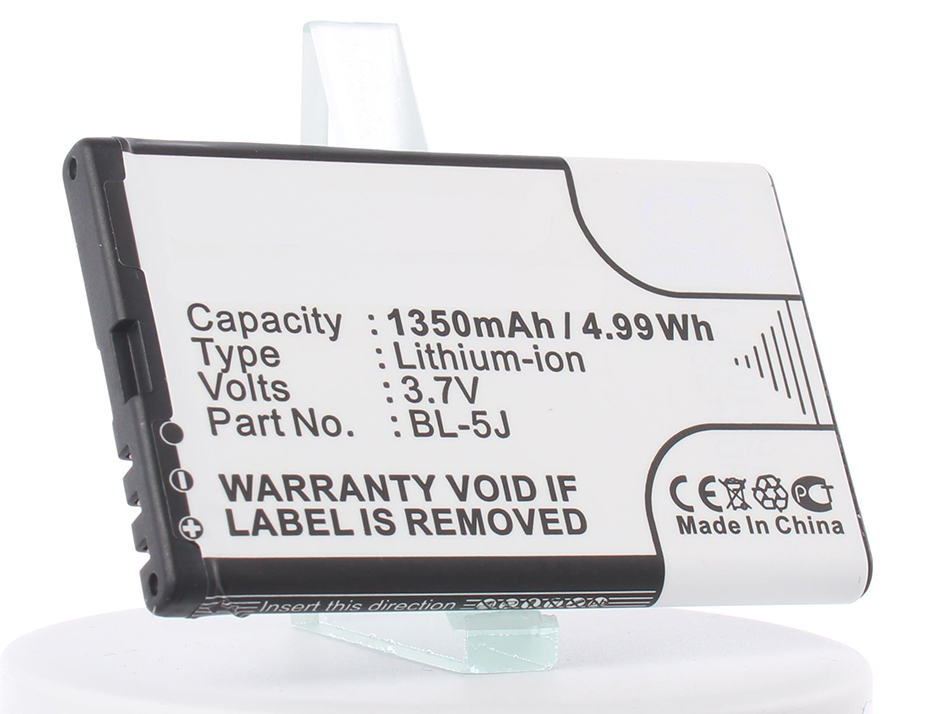 Аккумулятор для телефона iBatt iB-BL-5J-M305 аккумулятор для телефона ibatt ib nokia lumia 430 m2367