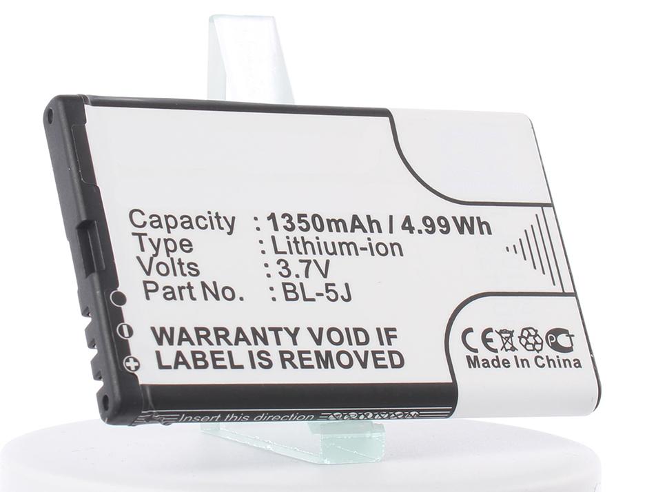 Аккумулятор для телефона iBatt iB-BL-5J-M305 аккумулятор для телефона craftmann bl 4j для nokia c6 c6 00 nokia 600 lumia 620