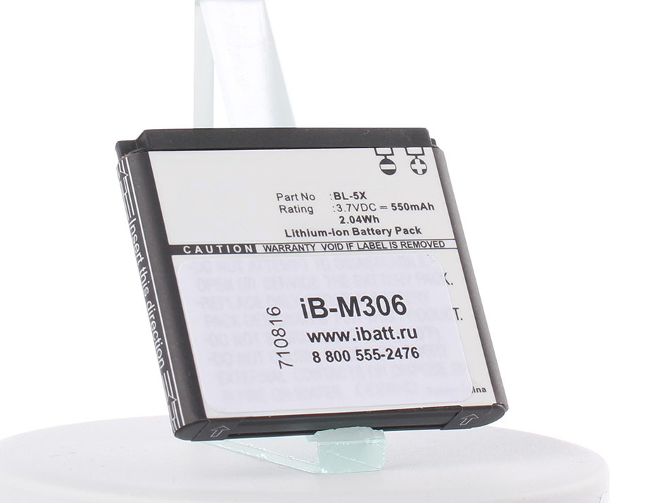 Аккумулятор для телефона iBatt iB-BP-6X-M306 аккумулятор для телефона ibatt ib bp 3l m397