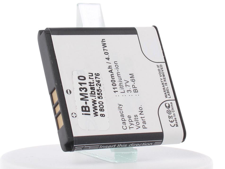 Аккумулятор для телефона iBatt iB-BP-6M-M310 аккумулятор для телефона ibatt ib bp 6p m312