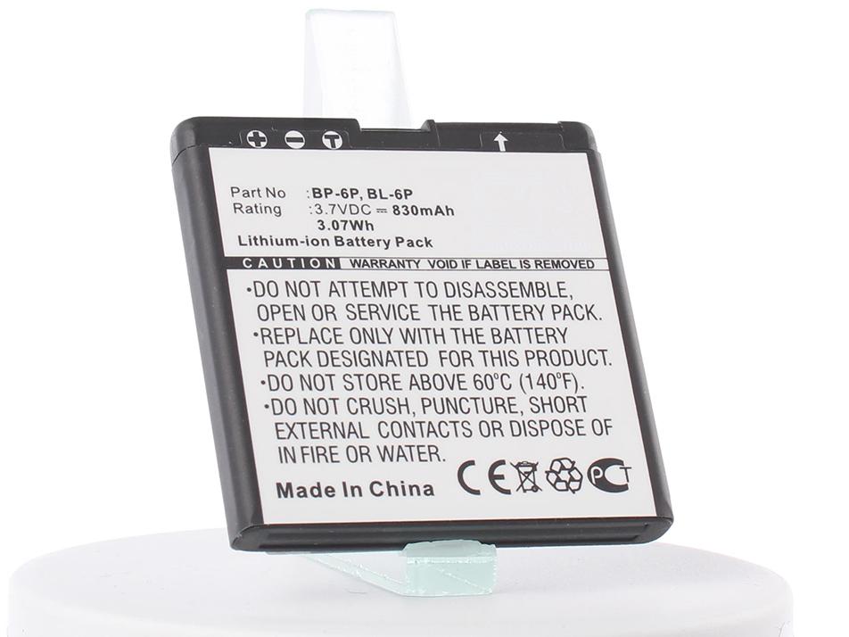 Аккумулятор для телефона iBatt iB-BL-6P-M312 аккумулятор для телефона ibatt bl 8n для nokia 7380 7380 280 7280