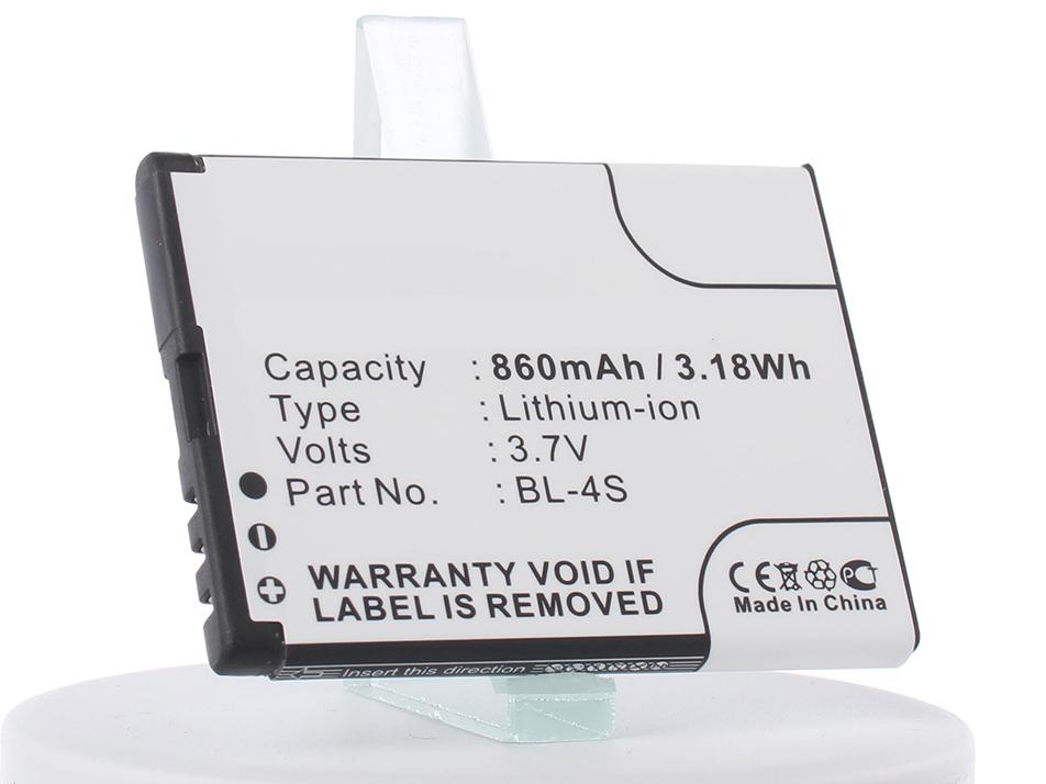 Аккумулятор для телефона iBatt iB-BL-4S-M318