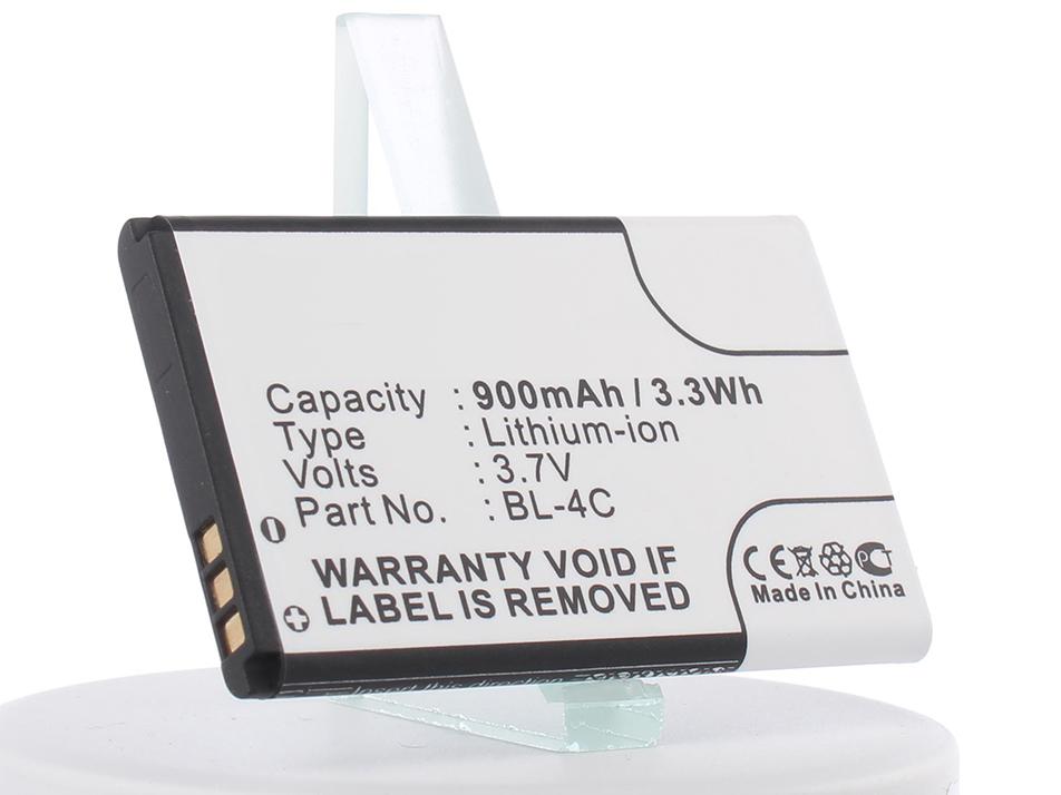 Фото - Аккумулятор для телефона iBatt iB-BL-4C-M348 акб nokia bl 4c 890 li ion для nokia 2650 2652 5100 6100 6101 6102