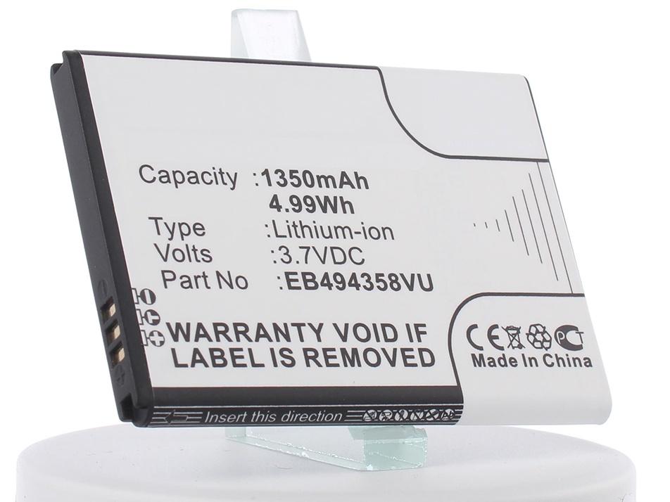 Аккумулятор для телефона iBatt iB-EB494358VU-M353 стоимость