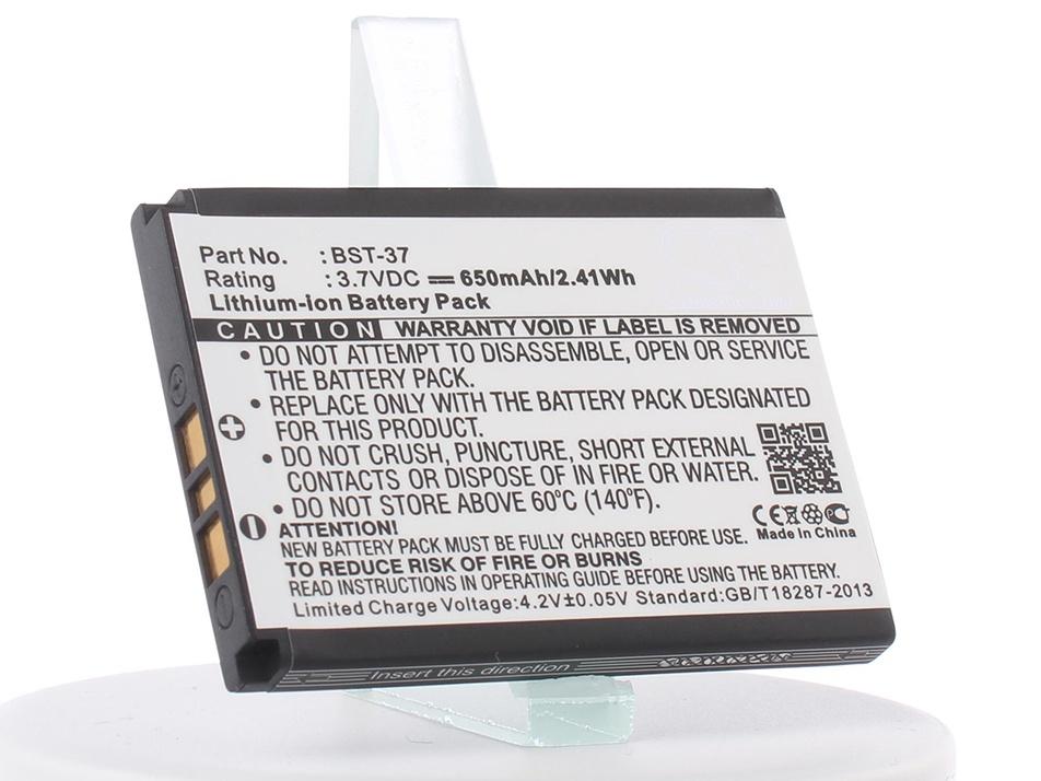 Аккумулятор для телефона iBatt iB-BST-37-M356 mallper replacement bst 39 3 7v 720mah battery for sony ericsson w910i more