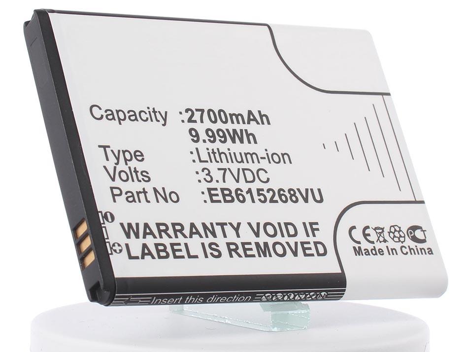 Аккумулятор для телефона iBatt iB-EB615268VU-M389 все цены