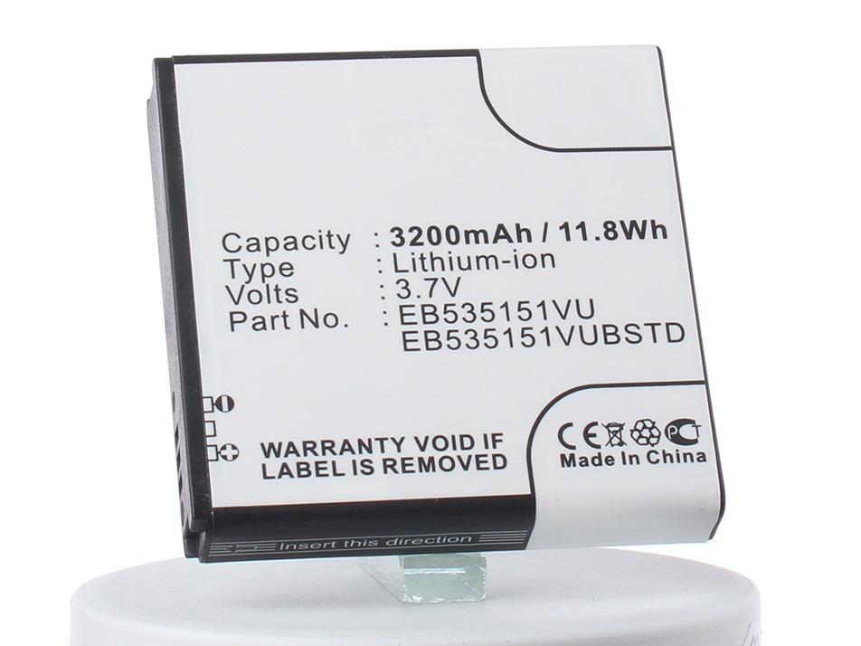 Аккумулятор для телефона iBatt iB-EB535151VU-M420 mallper replacement 3 7v 1550mah li ion battery for samsung galaxy s advance i9070