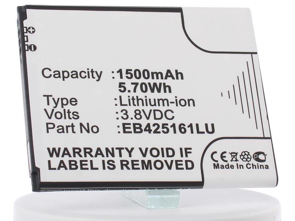 Аккумулятор для телефона iBatt iB-EB-F1M7FLU-M430 аккумулятор krutoff для samsung galaxy ace 3 s7270 eb b100ae 29012