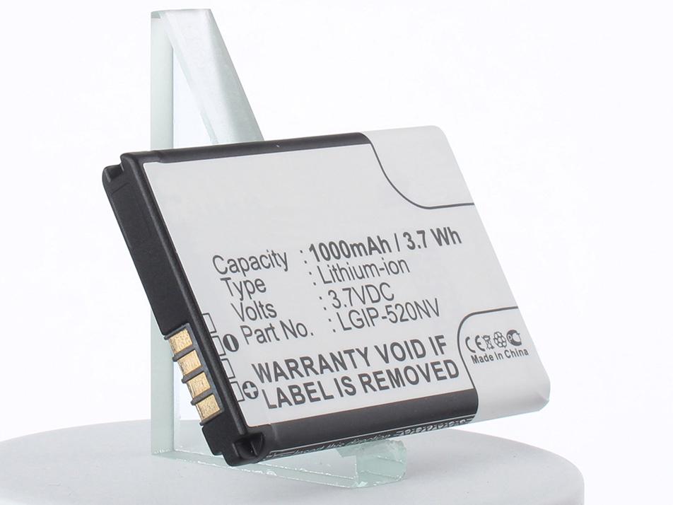 Аккумулятор для телефона iBatt iB-LGIP-520N-M1065 аккумулятор для телефона ibatt ib lg accolade m1065