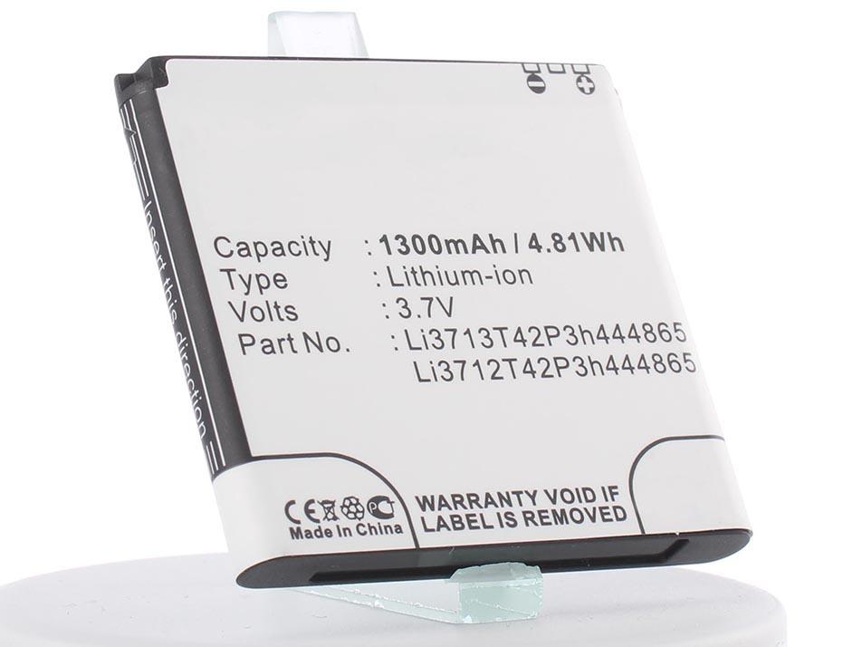 Аккумулятор для телефона iBatt iB-Li3713T42P3H444865-M450 аккумулятор для телефона ibatt ib li3713t42p3h444865 m450
