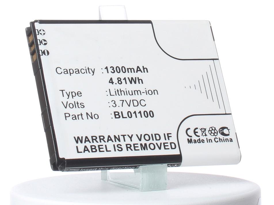 Аккумулятор для телефона iBatt iB-BL01100-M453 аккумулятор для телефона ibatt bl01100 ba s850 для htc desire 200 a320e desire c htc a320e desire 200 102e d210h
