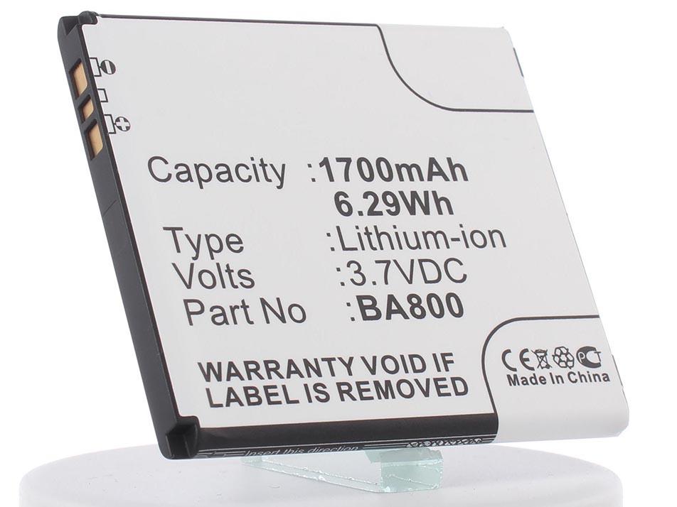 Аккумулятор для телефона iBatt iB-BA800-M455 аккумулятор monitor для sony xperia v lt25i ba800 4057 оригинал