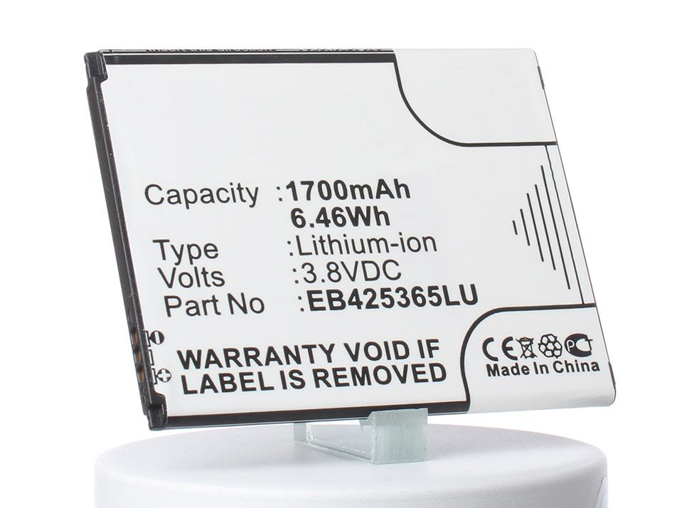 Аккумулятор для телефона iBatt iB-EB425365LU-M528 samsung duos