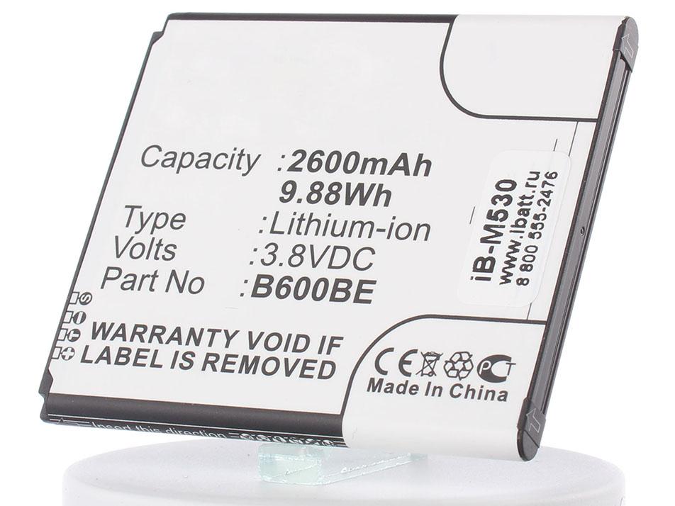 цена на Аккумулятор для телефона iBatt iB-B600BE-M530