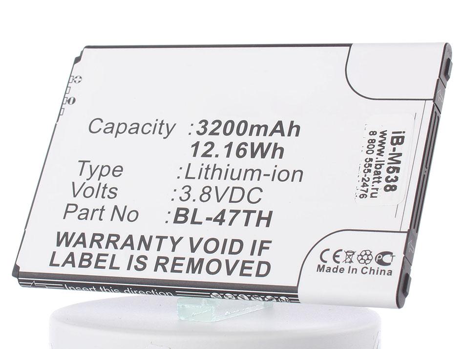 Аккумулятор для телефона iBatt iB-BL-48TH-M538 protective s pattern anti slip tpu case for lg optimus g pro 2 lg p72 transparent