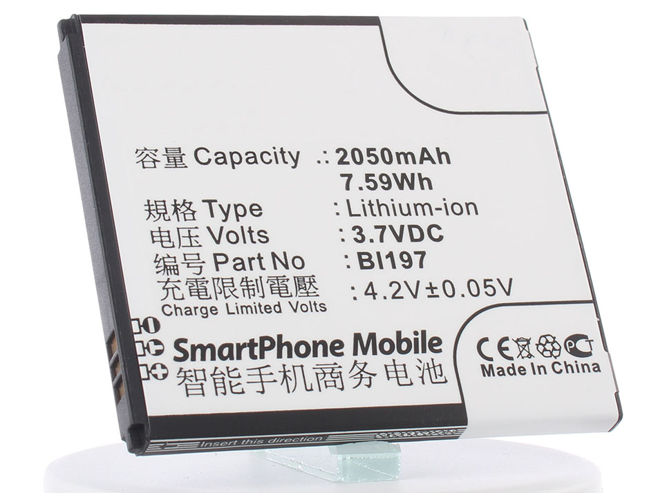 Аккумулятор для телефона iBatt iB-BL197-M592 аккумулятор для телефона ibatt ib bl197 m592