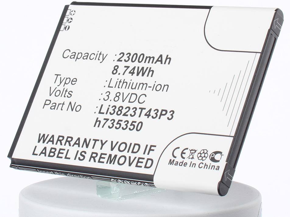 Аккумулятор для телефона iBatt iB-Li3823T43P3H735350-M1107 аккумулятор для телефона ibatt ib bl3815 m1760