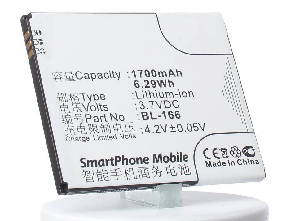 Аккумулятор для телефона iBatt iB-BL-166-M618