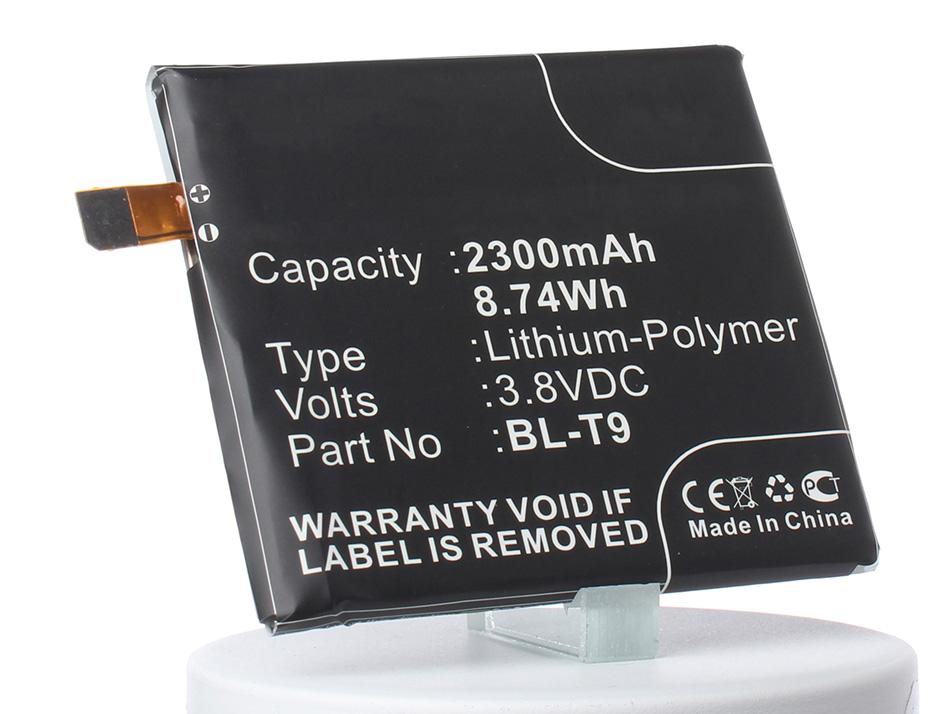 Аккумулятор для телефона iBatt iB-BL-T9-M624 original bl t9 battery for lg google nexus 5 lg d820 d821 e980 2300mah
