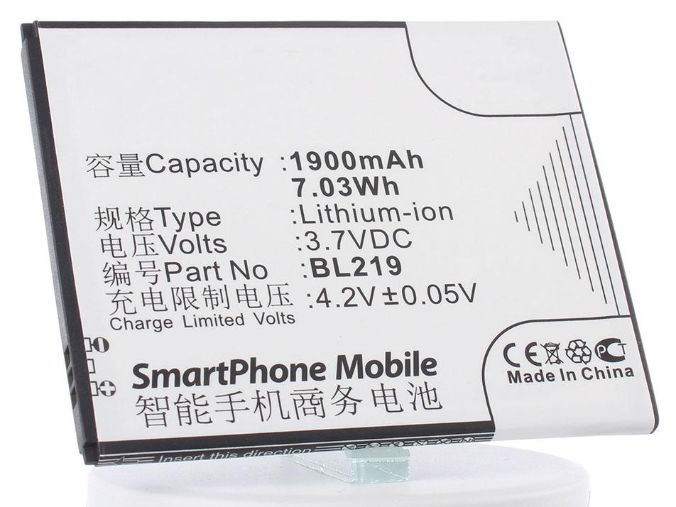 Аккумулятор для телефона iBatt iB-BL219-M640 аккумулятор для телефона ibatt ib bl219 m640